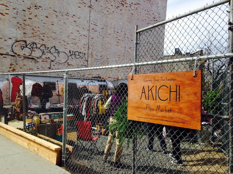Akichi Flea market, flea market brooklyn, flea market bed stuy