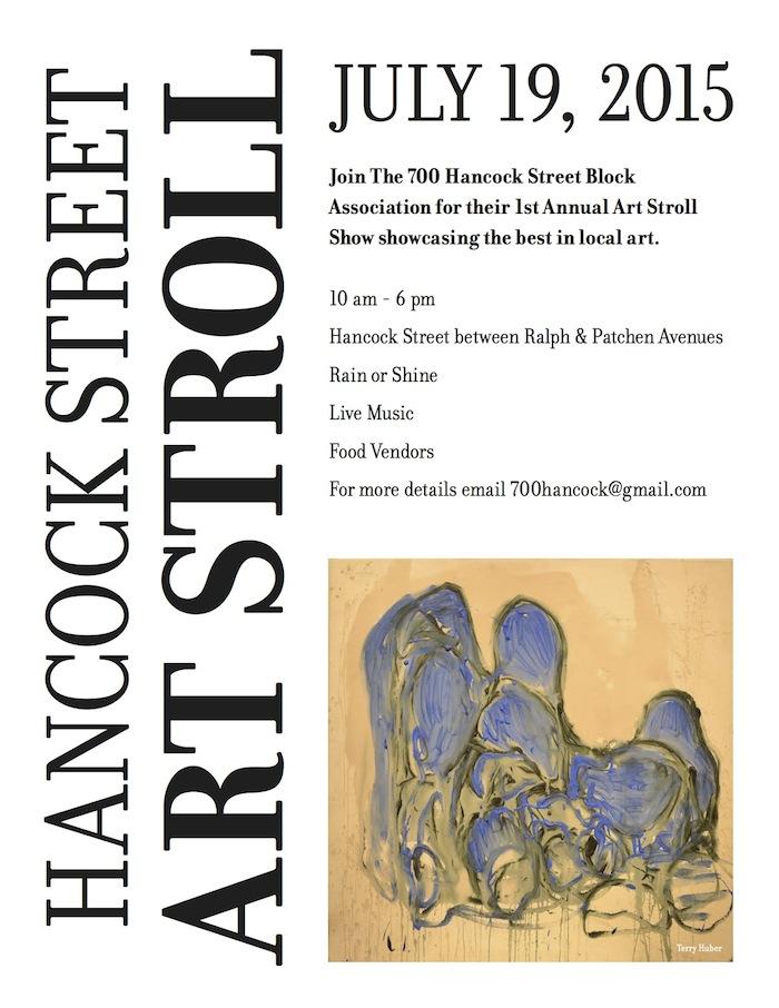 Hancock Street Art Stroll, Bed Stuy, 700 Hancock Street Block Association