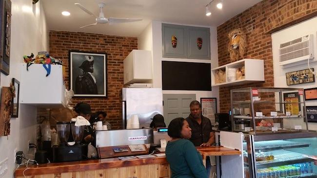 Kafe Louverture, bed stuy, 392 Halsey Street