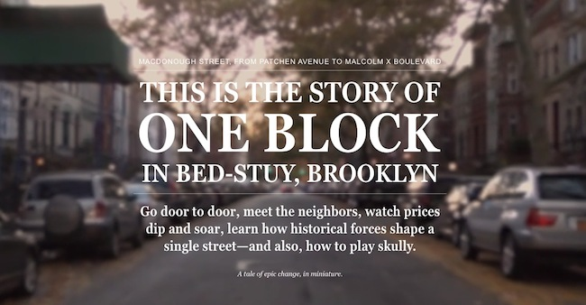 One Block, New York Magazine