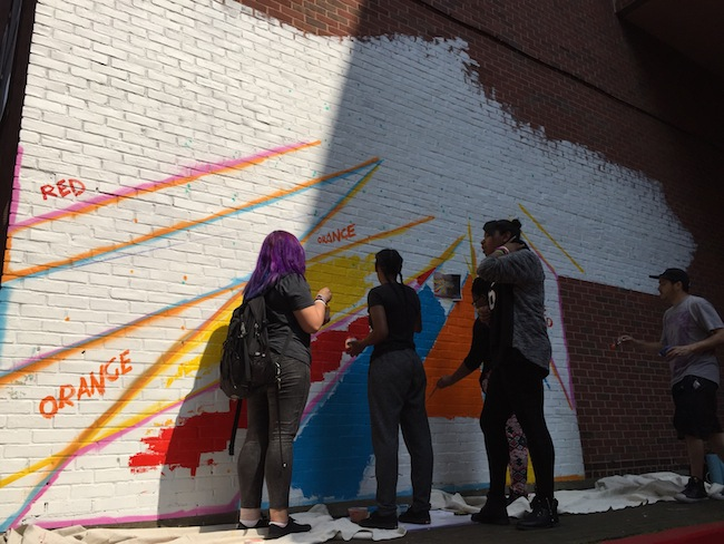 groundswell, bed stuy, mural, boys and girls high school