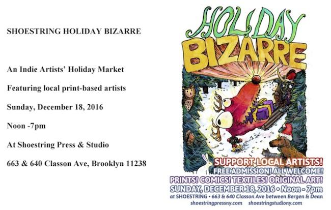 shoestring holiday bazaar