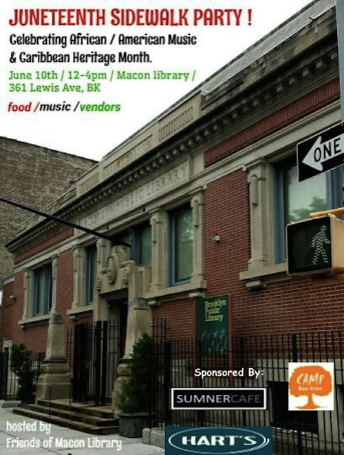 friends of the macon library, macon library, bedford-stuyvesant