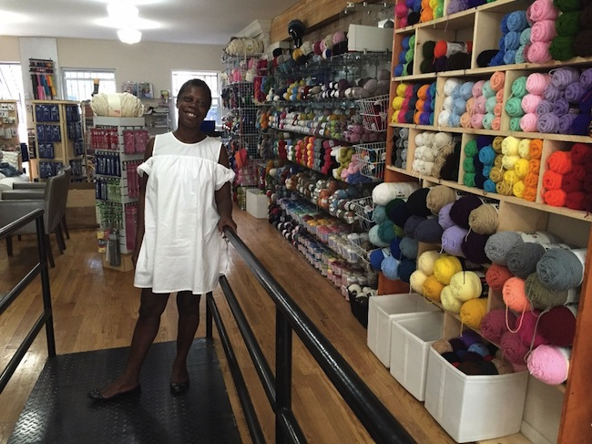 claudette brady, slip stich needlecraft, bed stuy