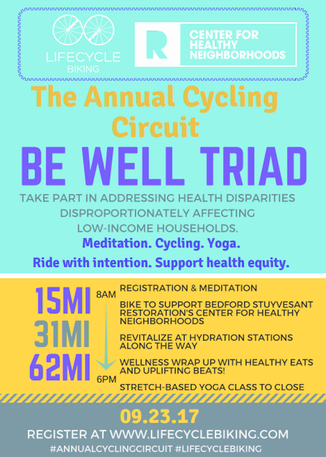 Annual Cycling Circuit, lifecycle biking, bed-stuy