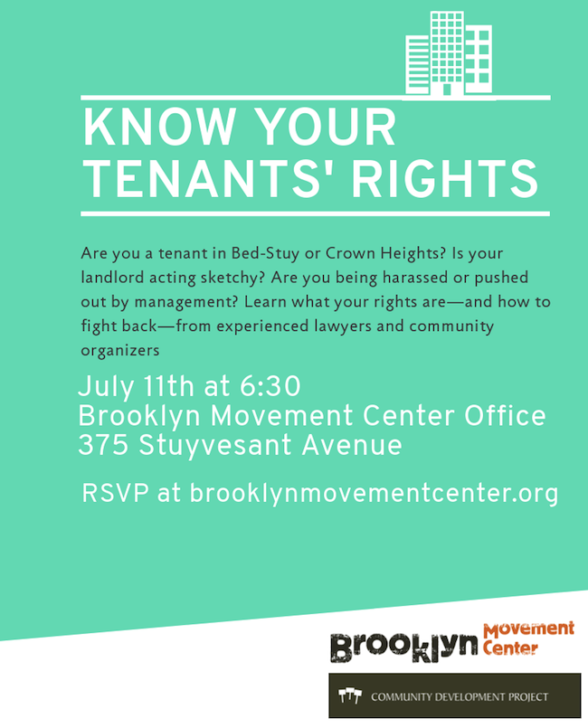 tenants rights bed stuy